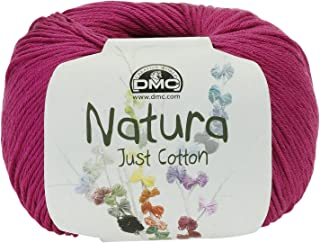 DMC Natura Yarn, 100% Cotton, Cerise N62, 9x9x7 cm