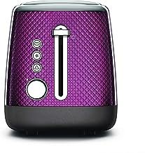 KENWOOD Mesmerine 2 Slot Toaster 2 Slot Toaster, Purple, TCM810PU