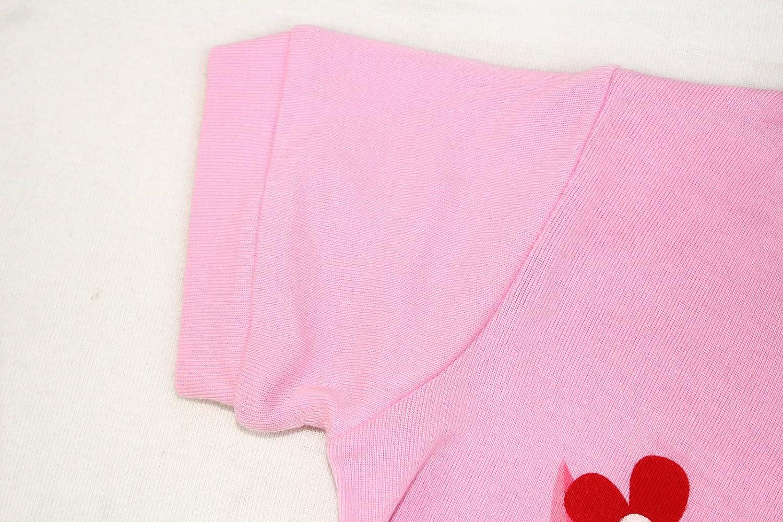 Girls Matching Doll/&Toddler Owl 4 Piece Short Cotton Pajamas Kids Clothes Sleepwear
