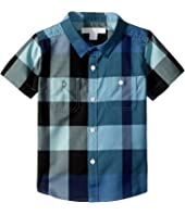 Burberry Kids - Mini Camber Short Sleeve Check Shirt (Infant/Toddler)