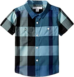 Mini Camber Short Sleeve Check Shirt (Infant/Toddler)