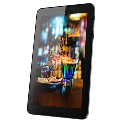 Micromax Canvas Tab P701 Tablet (7 inch, 8GB, Wi-Fi + 4G LTE + Voice Calling), Blue