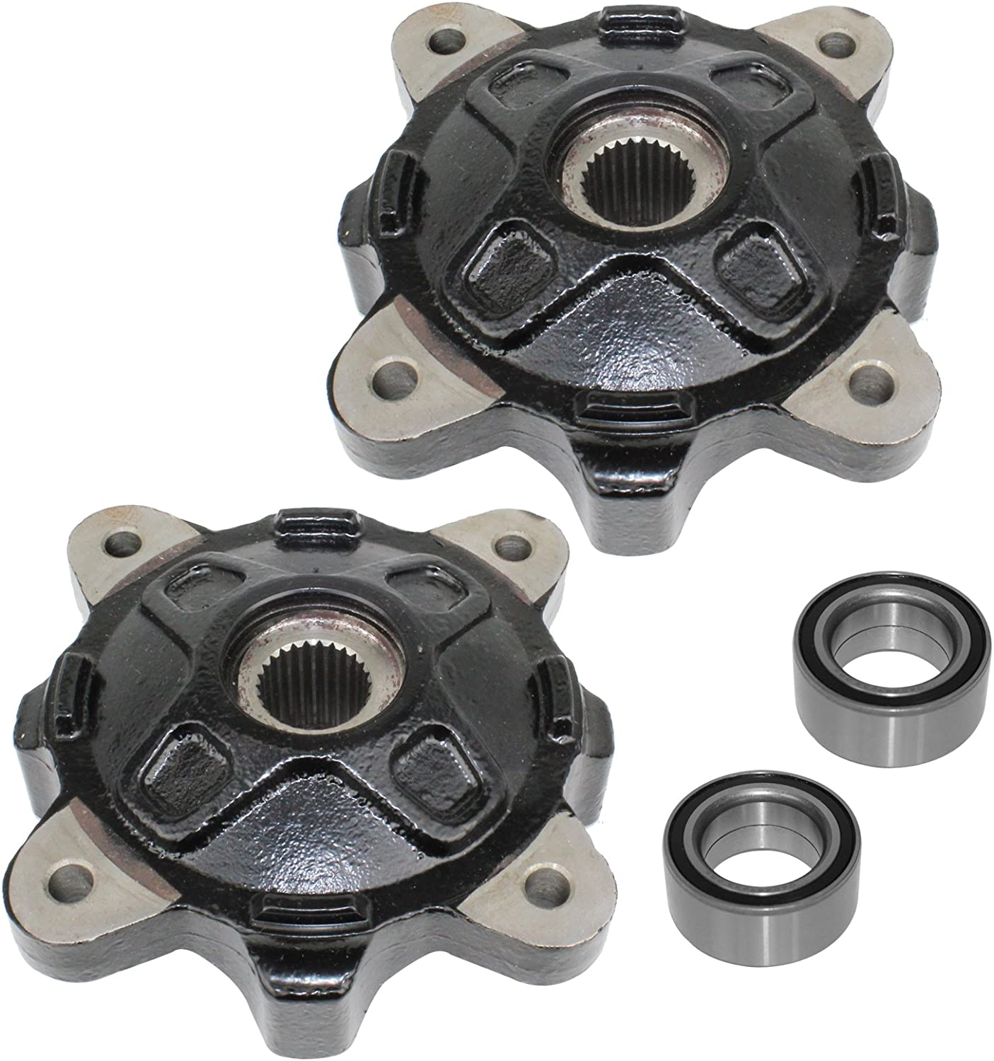 Caltric compatible with Front Left Right List price Wheel Ball Bea And Max 65% OFF Hubs