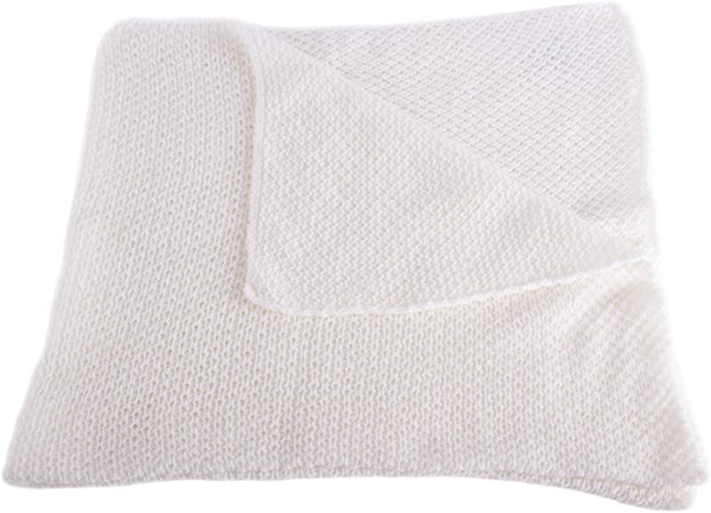 Unisex Super Soft 100 Cashmere Baby Blanket White Hand Made In Scotland By Love Cashmere
