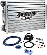 Boss Armor AR1200.2 1200 Watt 2-Channel Car Audio Amplifier+Level Remote+Amp Kit