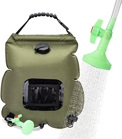 VIGLT 20 Liter Solar Shower Bag