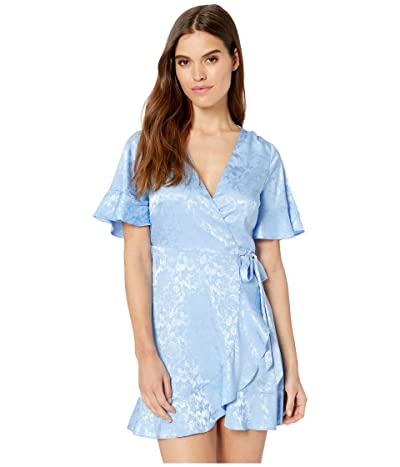 Show Me Your Mumu Evelyn Mini Wrap Dress (Santorini Jacquard) Women