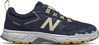 New Balance Men 510V5 Running Sport Sneakers Shoes Natural Indigo/Chromatic Yellow/Atomic Yellow 10.5 Wide