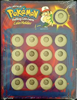 Pokemon Battling Coin Game Coin Holder