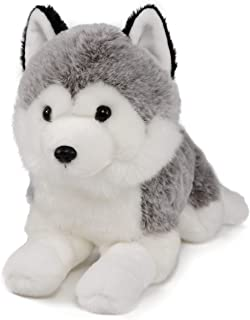 Ice King Bear Lifelike Siberian Husky Stuffed Animal - Plush Toy - 14 Inches Length