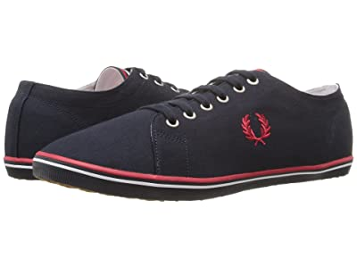 Fred Perry Kingston Twill (Navy/Red/White) Men