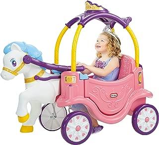 Little Tikes Princess Horse & Carriage (Renewed)