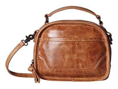 Frye Melissa Top-Handle Crossbody (Beige) Handbags