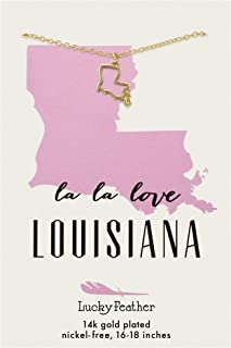 Best louisiana charm necklace Reviews