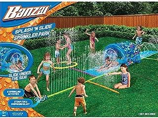 splash and slide sprinkler park