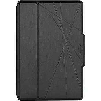 Targus Click-In Samsung Galaxy Tab S6 (2019) Protective Tablet Cover with Hands Free Standup Case, Military Grade Drop- Safe Protection, Secure Closure, Water-resistant, Anti-Scratch, Black (THZ812GL)