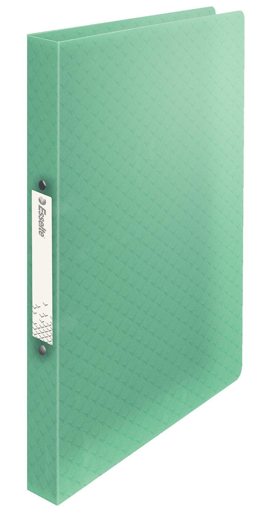 Esselte Carpeta 2 Anillas, Para 140 Folios, A4, Verde, ColourIce, 626243: Amazon.es: Oficina y papelería