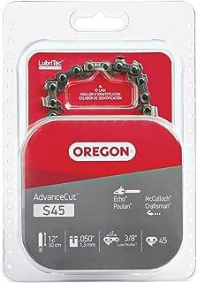 Oregon S45 AdvanceCut 12-Inch Chainsaw Chain Fits Craftsman, McCulloch, Poulan, Remington