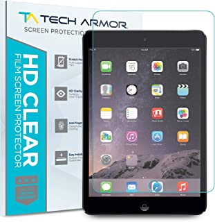 iPad Mini Screen Protector, Tech Armor Anti-Glare/Anti-Fingerprint Apple iPad Mini 1/2 / 3 Film Screen Protector [3-Pack]