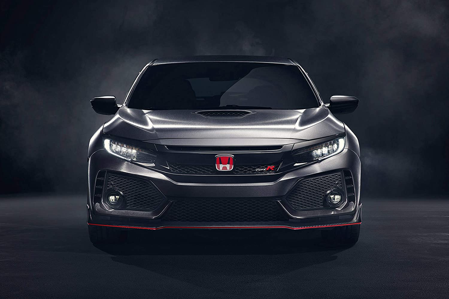 Black Creations Honda Civic type r 2 Sport Car Poster Canvas Picture Art Print Premium Quality A0 A1 A2 A3 A4 (A0 Canvas (30 40))