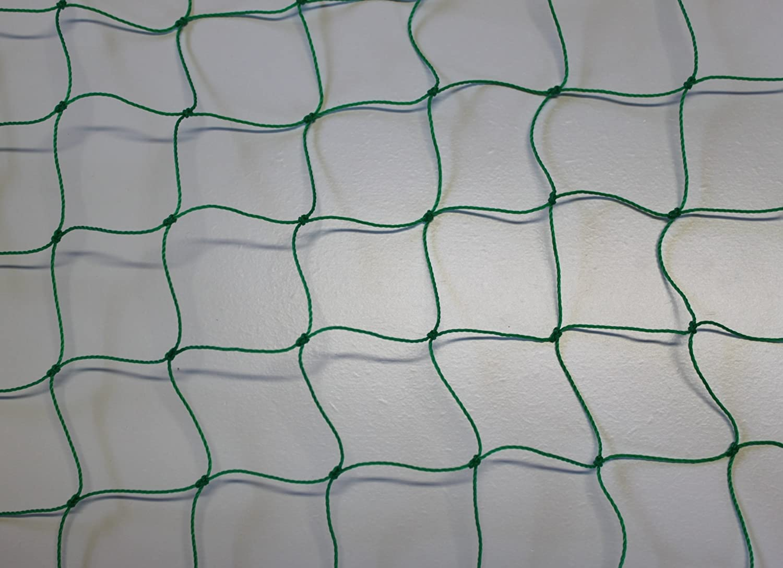 Ballfangnetz - Ballnetz - Netz - grün - Masche 5 5 5 cm - Stärke  1,2 mm - Größe  6,00 m x 30 m B00BIJC8KM  Klassischer Stil 1527f3