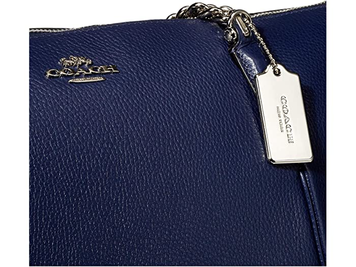 Coach Pebbled Leather Ava Chain Tote - Brand Bags
