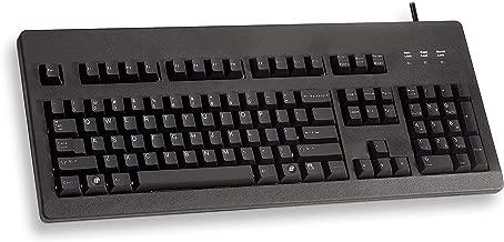 Cherry MX Blue Switch Standard Corded Keyboard - 104 Keys (G80-3000LSCEU-2)