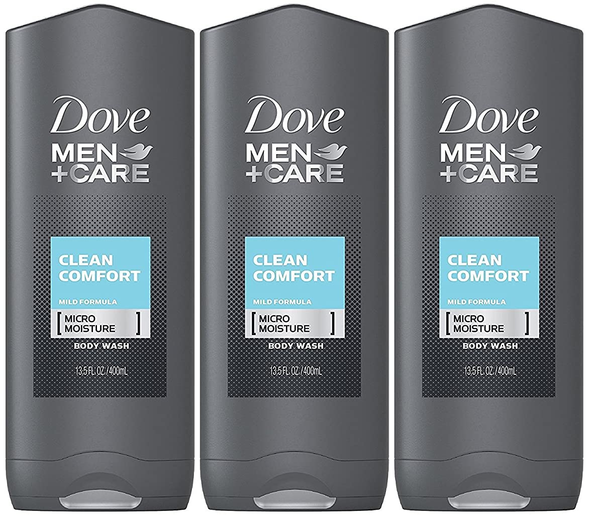 熱意爵挨拶するDove Men Plus Care Body and Face Wash Clean Comfort , 13.5 Oz by Dove
