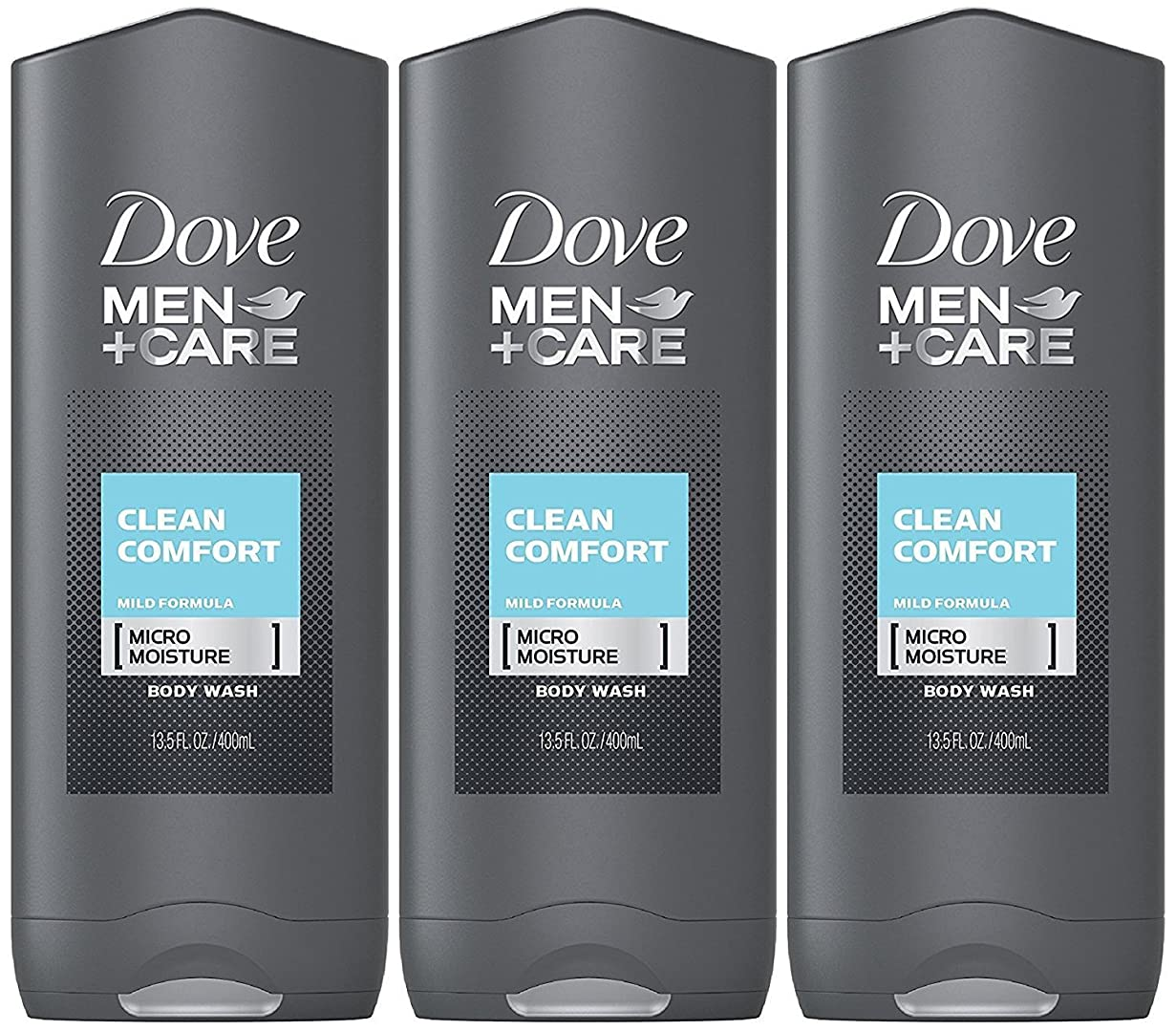 禁止人事クラスDove Men Plus Care Body and Face Wash Clean Comfort , 13.5 Oz by Dove