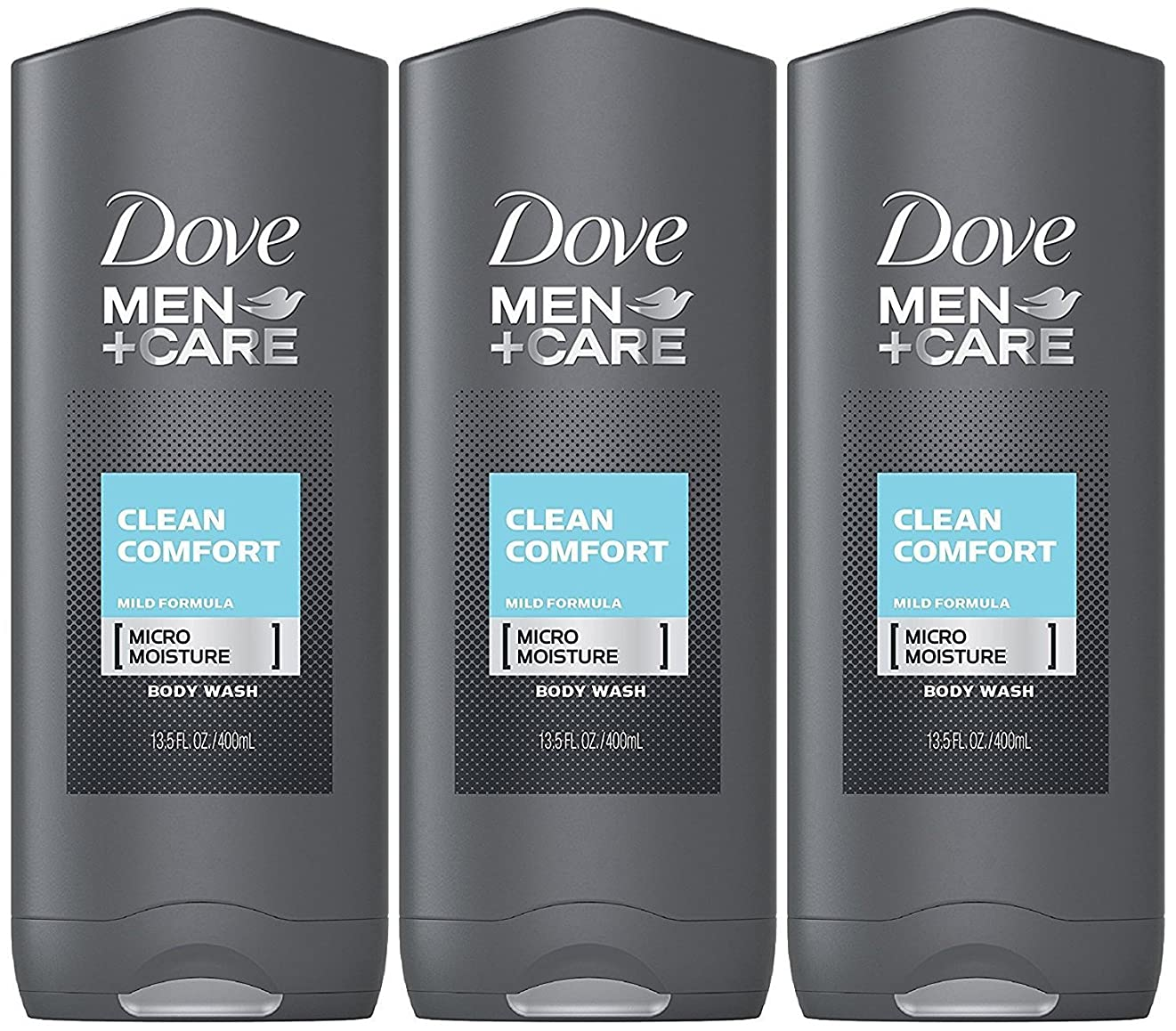 ミキサー邪魔植物学Dove Men Plus Care Body and Face Wash Clean Comfort , 13.5 Oz by Dove