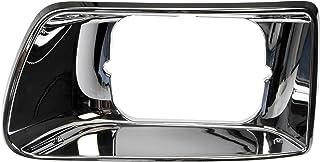 Dorman 889-5406 Driver Side Headlight Bezel for Select Kenworth Models, Chrome