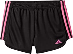 adidas Kids Around The Block Mesh Shorts (Big Kids)
