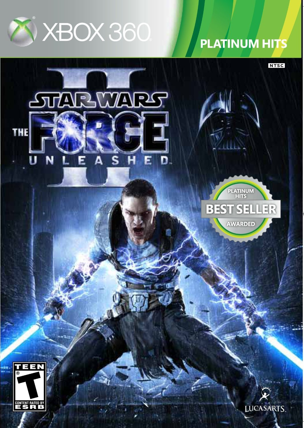 Star Wars: The Force Unleashed 2021new shipping free shipping Super intense SALE II Platinum 360 - Xbox edition