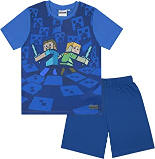 Idea Regalo Bambini 5 6 7 8 9 10 11 12 13 14 Anni Minecraft Vestaglia Bambino Pile Super Morbida Vestaglie da Casa Morbide E Comode con Cappuccio Motivo Creeper Nero O Grigio