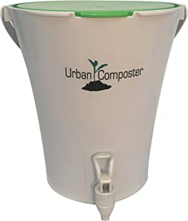 Exaco UCsmall-G Great  Urban Composter, 2.1 gallon, Green
