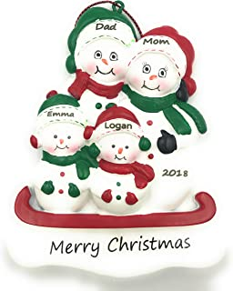 Best snowman family of 3 ornament Reviews