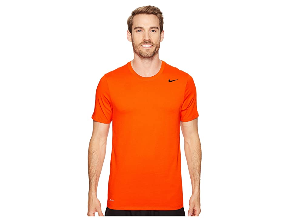 Nike Dri-FITtm Version 2.0 T-Shirt (Team Orange/Team Orange/Black) Men