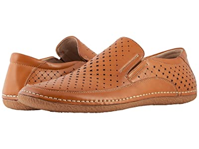 Stacy Adams Northpoint Slip On Casual Loafer (Natural) Men
