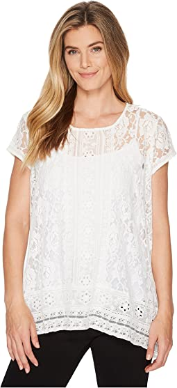 Karen Kane Multi Lace Top