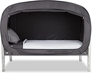 Privacy Pop Bed Tent (Full) - Black