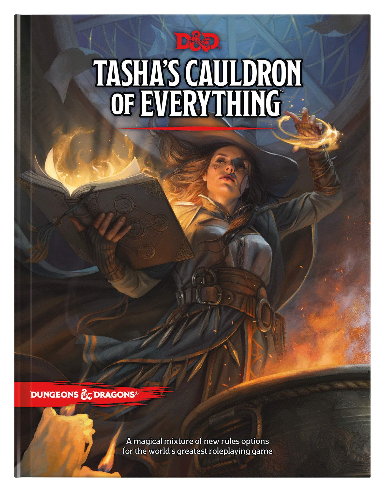 Cover image of Tasha's Cauldron of Everything by Wizards RPG Team