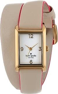 kate spade new york Women's 1YRU0179 Champagne Cooper Wrap Watch