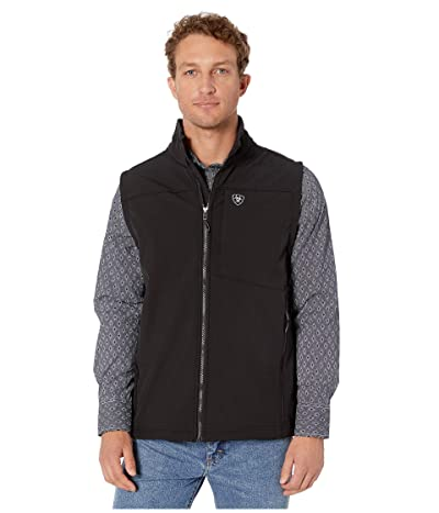 Ariat Logo 2.0 Softshell Vest (Black) Men