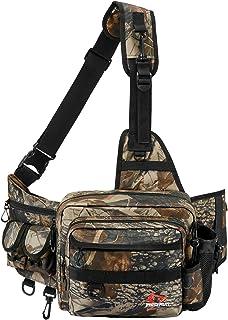 Piscifun Sling Fishing Tackle Bag, Outdoor Fishing...