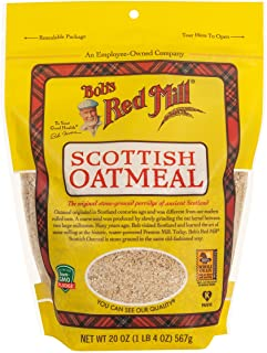 Bob's Red Mill Organic Scottish Oatmeal, 20 oz, 2 pk