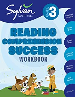 3rd Grade Reading Comprehension Success Workbook: Activities, Exercises, and Tips to Help Catch Up, Keep Up, and Get Ahead (Sylvan Language Arts Workbooks)