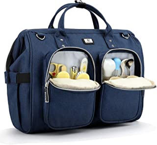 Diaper Bag with Stroller Hook and Multiple Pockets - Amazon Vine