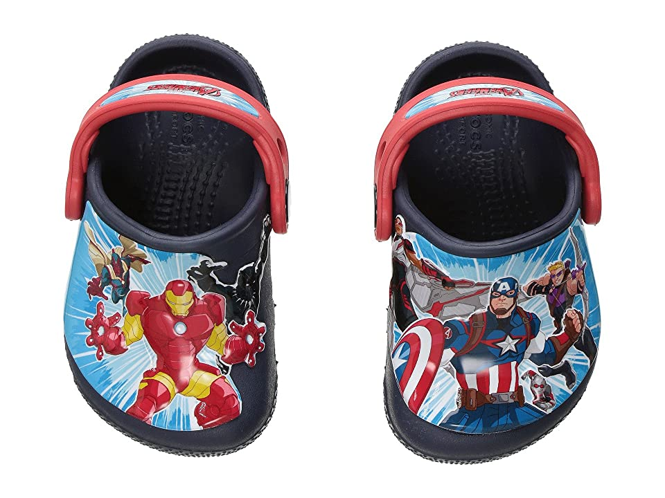 Crocs Kids CrocsFunLab Marvel Avengers (Toddler/Little Kid) (Navy) Boy