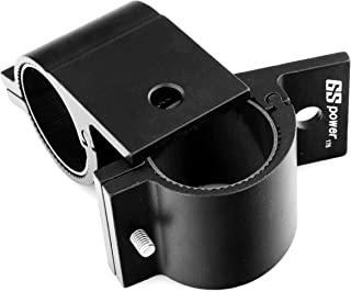 GS Power's Bracket Clamp | choice of 1/1.25/1.75/2 inch. Mount LED Light Bar, Safety Flag, Antenna onto Bar Tube Rack Roll Cage Bumper on Boat Truck ATV Can-Am Bike (2 pc)