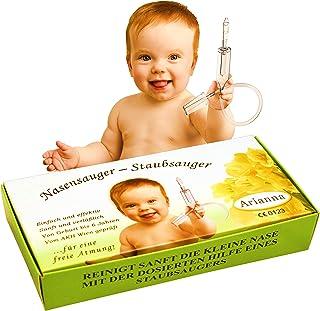 Baby Vac®. Originele neuszuiger voor baby's. Met 2 zuigkoppen en inbegrepen met gratis reinigingsborstel - klinisch getest...
